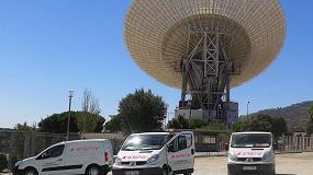 Picture of Sintemar renueva la pista de rodadura de una antena de la NASA en Madrid