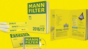 Foto de MANN+HUMMEL lanza sus nuevos catálogos MANN-FILTER 2016/17 con una extensa gama de filtros para más de 43.000 vehículos y máquinas