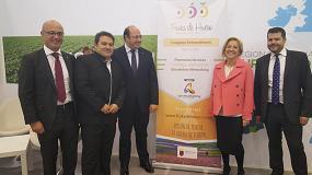 Foto de El Congreso de Fruta de Hueso de la Región de Murcia se presenta en Fruit Logistica