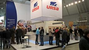 Fotografia de Ursa, presente en la Feria Dach Holz International Roof+Timber 2016 Stuttgart