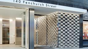 Fotografia de El acero, protagonista del redise�o de la nueva entrada de Fenchurch Street 140, en Londres