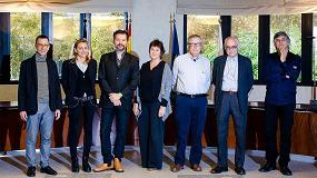 Foto de Ascer entre los galardones de los XIV Premios Cerámica