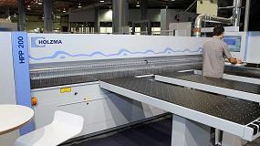 Foto de Homag España presenta en Fimma la nueva seccionadora HPP 200 de Holzma