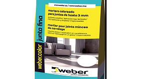 Picture of Weber.color, la nueva gama de morteros para juntas cer�micas de Weber