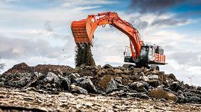 Foto de Hitachi muestra en Bauma sus últimos modelos de excavadoras y palas de ruedas