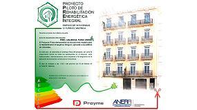 Foto de El 16 de febrero se inauguró en Valencia el Proyecto Piloto de Rehabilitación Energetica Integral de Anerr