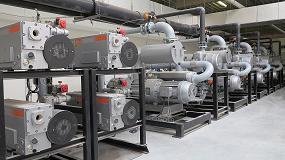 Foto de Moderna central de suministro de vacío para las nuevas instalaciones Pini Polonia