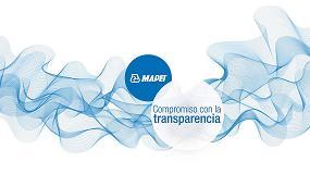 Foto de Mapei lanza la campaña 'Compromiso con la transparencia'