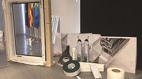 Foto de Instalación óptima de una ventana con el sistema Clima Protect de greenteQ