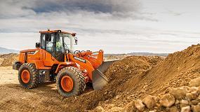 Foto de Nuevas excavadoras y cargadoras Doosan de tamaño medio en Bauma