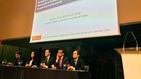 Foto de FIAB y Banco Santander congregan en Lleida a más de 100 empresas interesadas en la innovación y la internacionalización