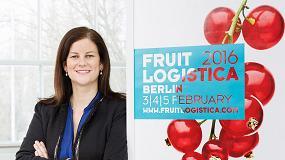 Foto de Entrevista a Silvia de Juanes, directora de Comunicaci�n en Espa�a y Am�rica Latina de Fruit Logistica