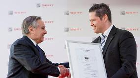 Foto de Seat, primera empresa del sector que logra el Certificado Aenor de Empresa Saludable