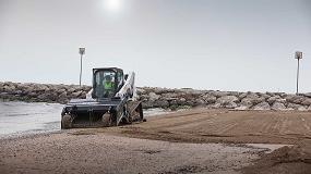 Foto de Bobcat presenta el nuevo implemento para limpieza de arena