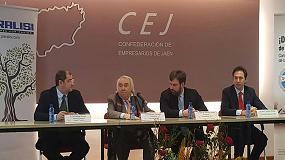 Foto de El presidente del grupo Pieralisi se reúne con empresarios de Jaén