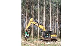 Foto de Las excavadoras hidráulicas Caterpillar irrumpen con fuerza en el sector forestal