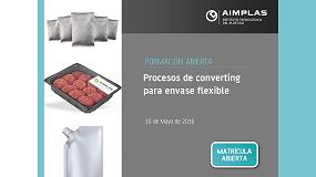 Foto de Aimplas organiza el curso 'Procesos de Converting para Envase Flexible'