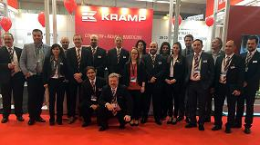 Foto de Kramp celebra su primer lustro inaugurando un nuevo centro logístico en España