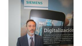 Foto de Entrevista a David Pozo, director técnico de Factory & Process Automation, experto en Industria 4.0 de Siemens España