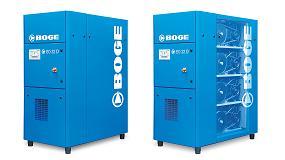 Foto de Boge presenta los nuevos compresores en el segmento de los exentos de aceite