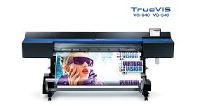 Foto de Roland DG lanza los modelos VG-640/540, las primeras impresoras/cortadoras ecosolventes de su nueva serie TrueVIS
