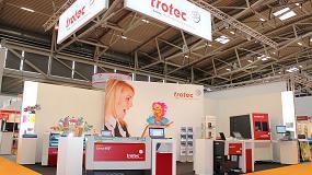 Foto de Trotec lleva su mejor tecnología láser a Drupa 2016