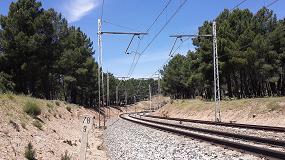 Foto de Siemens renovará la catenaria entre Santa María de la Alameda y La Cañada en la línea Madrid-Hendaya