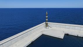 Foto de El nuevo faro del Puerto de Valencia recibe el premio a la innovación en composites