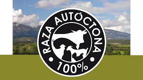 Foto de El Logotipo' Raza Autóctona 100%' engloba treinta y tres Razas