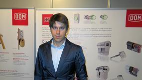 Fotografia de Entrevista a Jorge P�rez Urrutia, responsable de Marketing de MCM, Metal�rgica Cerrajera de Mondrag�n, S.A.