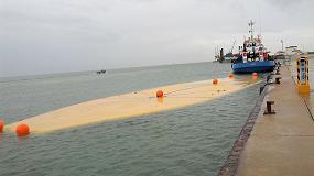 Foto de XXL Refresh logra desarrollar un contenedor flexible flotante para el transporte marítimo de grandes volúmenes de agua