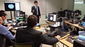 Foto de Expertos de Keyence-Japón forman a los especialistas de Bitmakers en Barcelona