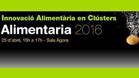 Foto de La Feria Alimentaria 2016 acoge la jornada 'Innovación Alimentaria en Clústeres'