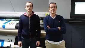 Foto de Vifer y de Diego instala la primera Durst Rho Roll to Roll en Galicia