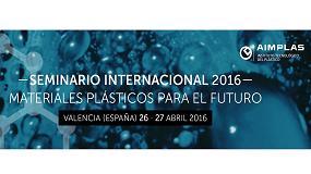 Foto de Seminario internacional 2016: 'Materiales plásticos para el futuro'