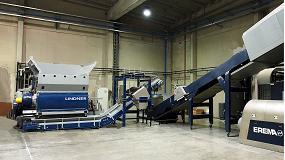Foto de Un triturador de Lindner aumenta la productividad en la fabricación de reciclados de alta calidad