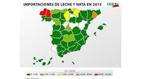 Foto de A Coruña, Lugo, Barcelona, Burgos y Guipúzcoa son las provincias que más leche y nata importaron en 2015