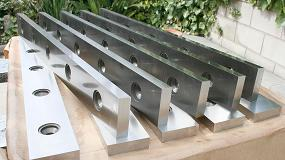 Foto de Metalmaq entrega un pedido de cuchillas especiales para cizalla