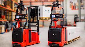 Foto de Linde Material Handling amplía su gama de carretillas robotizadas
