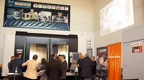 Foto de Maquinser, SoliCAM y Hoffmann Group demuestran los beneficios de la cooperación