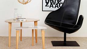 Foto de Buff, unas mesas de estilo retro realizadas en Hi-Macs