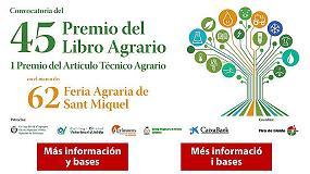 Foto de Fira de Lleida convoca una nueva edici�n del Premio del Libro Agrario
