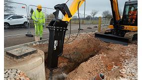 Foto de La gama Contractor aumenta los modelos de martillo hidr�ulico JCB