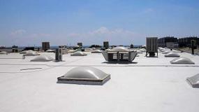 Foto de Impermeabilización de filtraciones en cubierta mediante Lotumroof Polytech