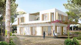 Foto de Tremco illbruck y House Habitat en una vivienda Passivhaus en Castelldefels