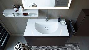 Foto de Innovadora tecnología 'c-bonded': lavabo y mueble se unen visualmente en una unidad