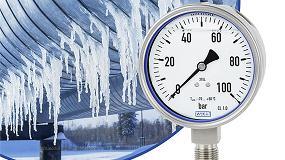 Foto de Nuevo manómetro resiste a bajas temperaturas hasta - 70 °C de Wika
