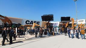 Fotografia de Case Construction Equipment evidencia en Bauma su clara apuesta por el mercado europeo