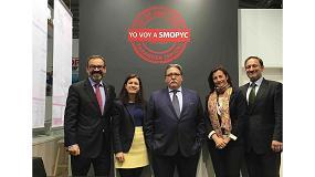 Foto de Gran acogida de Smopyc 2017 en su presentación en Bauma