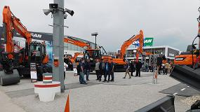 Foto de Doosan presenta en Bauma sus nuevas cargadoras de ruedas DL200-5 y DL250TC-5